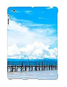 Appearance Snap-on Case Designed For Ipad 2/3/4- Pier Dock Tropical Beach (best Gifts For Lovers)