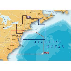 Navionics Platinum Plut 905PP - US Mid Atlantic and Canyons - SD Card (Platinum Plus Bay Chesapeake)