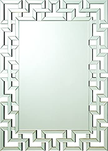 Coaster Home Furnishings 901786 Transitional Mirror, Silver - Home Furnishings