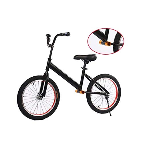YUMEIGE Balance Bikes 18 Inch Balance Bikes for Sparring Parents,Training Bike High Carbon Steel Frame/Single Beam,Childrens Balance Bike with Five-Way Pedal Shaft Load 90kg