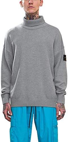 [ビヨンドユー] ニット セーター メンズ ケーブルニット タートルネック フィッシャー ざっくり