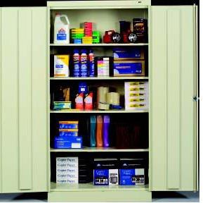 Tennsco Corp., Wardrobe Cabinets, H7114, Size W X D X H: 36 X 18 X 72
