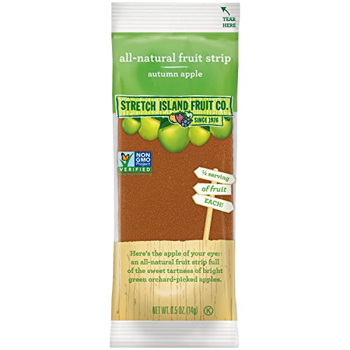 STRETCH ISLAND FRUIT LEATHER,APPLE, .5 OZ by Stretch Island