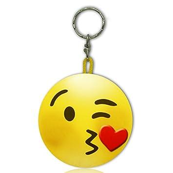 Llavero Emoticono Beso: Amazon.es: Juguetes y juegos
