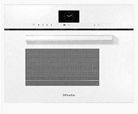 Miele DGM 7640 BRWS - Horno de vapor combinado para microondas (60 cm), color blanco brillante: Amazon.es: Grandes electrodomésticos
