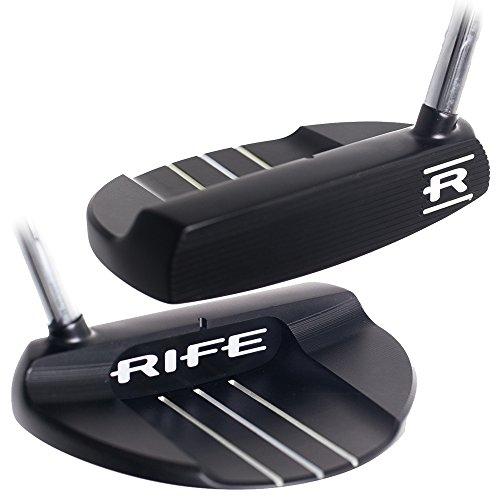 Rife Bellevue Heel Shafted Black Putter 35