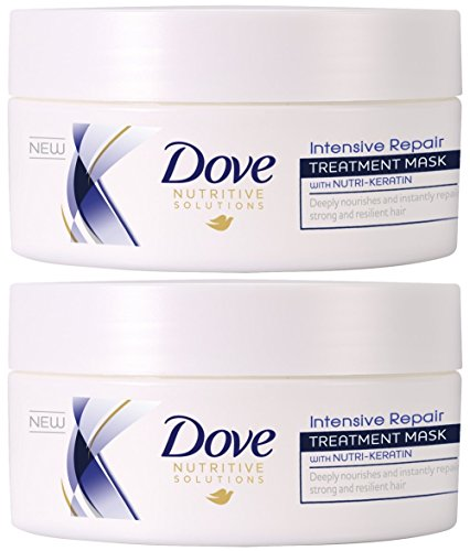 Dove Nutritive Solutions Intensive Repair Treatment Mask, 6.7 Ounce (Pack of 2) (Intensive Nourishing Treatment)