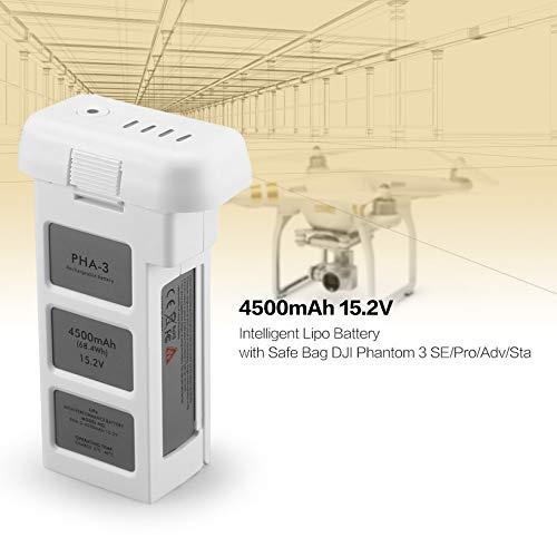 Wikiwand 4500mAh 15.2V Intelligent Lipo Battery Safe Bag Phantom 3 SE/Pro/Adv/Sta