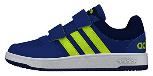 adidas Vs Hoops Cmf C - Zapatillas de deporte Niños Azul (Azul / Amasol / Tinuni)