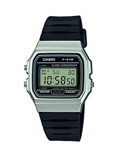 Casio F-91WM-7A unisex quartz wristwatch