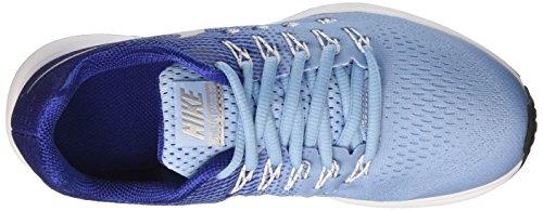 Nike Zoom Pegasus 33 (GS), Scarpe da Corsa Bambina, Azul (Bluecap / Metallic Silver-Deep Royal Blue), 35 1/2 EU
