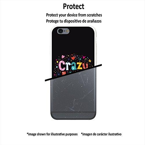 WoowCase Hülle Case für [ iPhone 7 ] Handy Cover Schutzhülle Herzen- Crazy Love