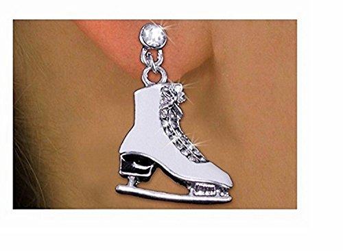 Sterling Silver Baseball Post Earrings - 3