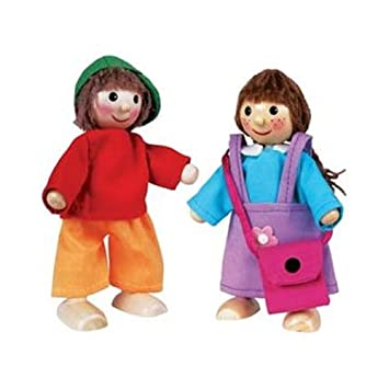 children s wooden dress up people amazon co uk toys games