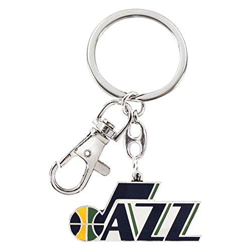 NBA Utah Jazz NBA-KT-091-21 Heavyweight Keychain, One Size, Multicolor (Jazz Utah Jewelry)
