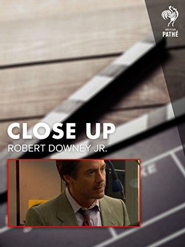 Close Up  Robert Downey Jr