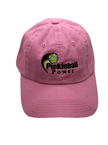 Cap Adjustable Garment - PORT AND COMPANY Ladies Garment-Washed Ball Cap - Embroidered & Adjustable - Bright Pink