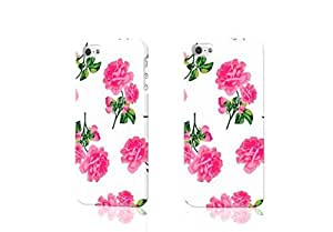 pink rose 3D Rough iphone 5 5S Case Skin, fashion design image custom iPhone 5 5s , durable iphone 5 5S hard 3D case cover for iphone 5 5S, Case New Design By Codystore