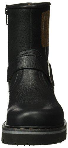 Black 1187 Botas wax Mujer Memphis 1188 Cortas Art Negro ZCgnC