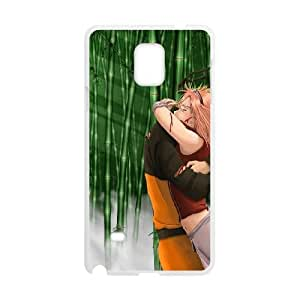 Naruto Samsung Galaxy Note 4 Cell Phone Case White T4509715