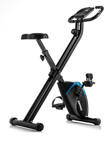 Zipro Unisex – Adult Folding Magnetic Fitness Bike Future X – Black, One Size