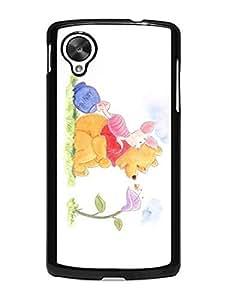 Nexus 5 Case, Winnie the Pooh Pattern Cute Anti-dust Case Cover Slim Fit for Google Nexus 5 9353596M923944011