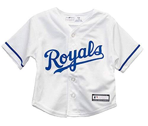 Outerstuff Kansas City Royals Home Cool Base Infant Jersey (18 - Royals Kansas City Cool