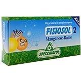 Fisiosol 2 Manganeso-Cobre 20 ampollas de Specchiasol
