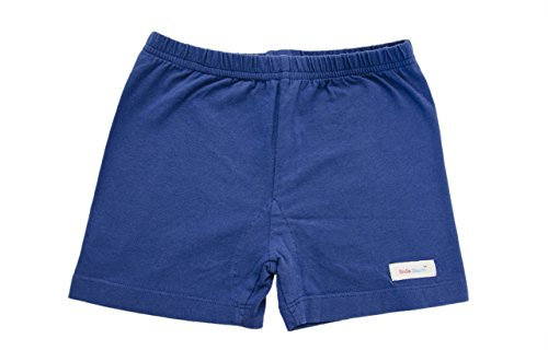 Little Girls All in One Under Shorts - Navy Blue - - One In Shorts All