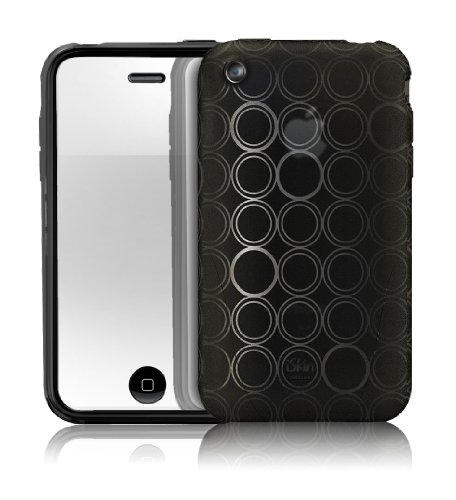 iSkin Solo FX Jelly Case for iPhone 3G/3GS - Black ()