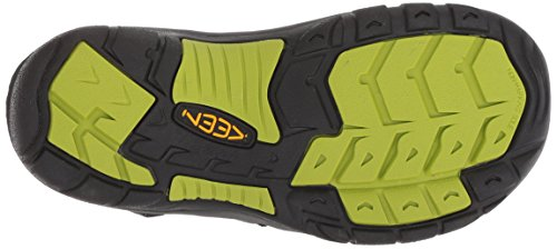 Keen Unisex Kids' Newport H2 Hiking Sandals Black/Lime Green 2YD63rQ