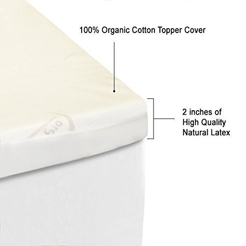 firm mattress topper.  Topper Amazoncom OrganicTextiles Natural Latex Mattress Topper Non Blended  Hypoallergenic Organic Cotton Covered For Extended Durability Twin XL Twin Extra  Throughout Firm Topper N