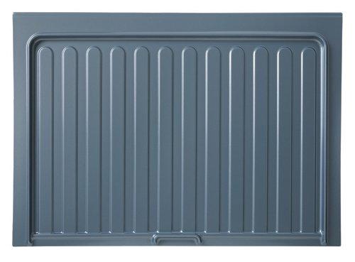 Rev-A-Shelf Vanity Drip Tray Sink Base Organizers, Metallic Silver SBVDT-3336-S-1