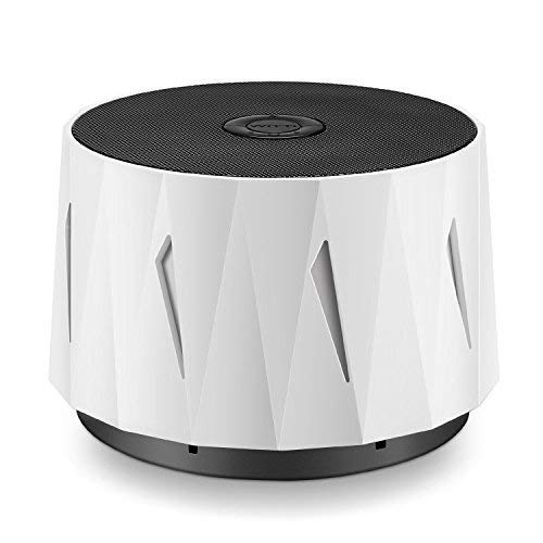 WITTI DOZZI | White Noise Noise Machine for Baby, Sleeping, Office Privacy. Lightweight Portable for Travel, Hotel Sleep. Natural White Noises maker, Set Tone & Fan Volume