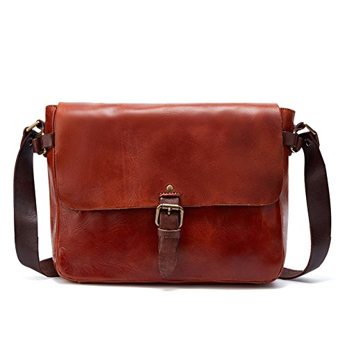 TOREEP Womens Leather Side Bags Messenger Bags by TOREEP