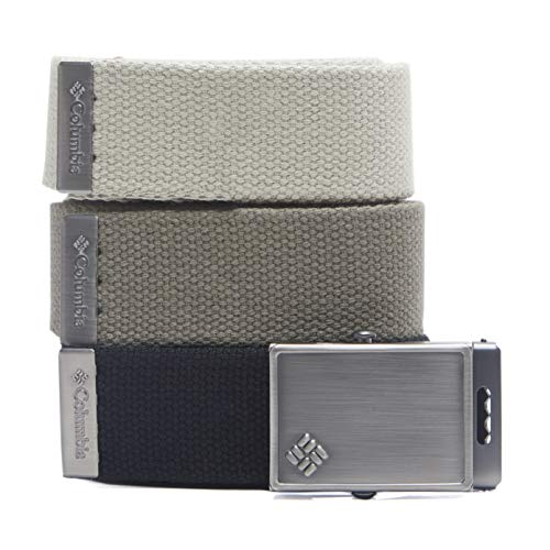 ary-Style 3 Pack Cut to Fit Web Belt, black/olive/khaki One Size ()