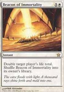 Fifth Dawn Game Card - Magic: the Gathering - Beacon of Immortality - Fifth Dawn