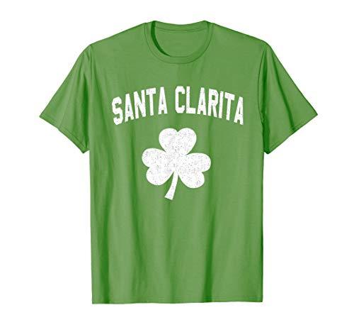 Irish American Shamrock Santa Clarita St Patricks Day T-Shirt
