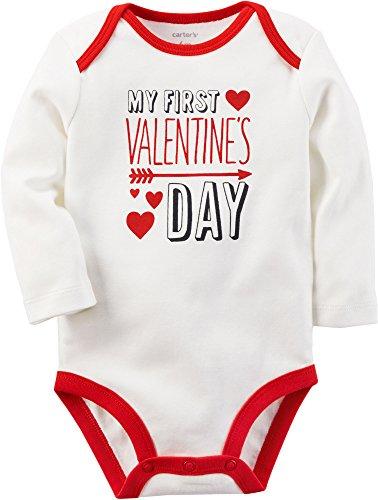 Carter's My First Valentines Day Bodysuit 12 Months