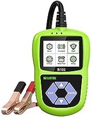 MR CARTOOL B100 Digitale Auto Batterij Tester, 20-2000 CCA, Automotive Accutesters Analysator Testlaadsysteem en Startsysteem voor alle 12V-Voertuigen