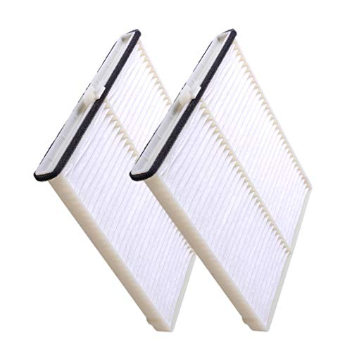 2 Pack Cabin air filter for Mazda CX-5,3,6,Replacement for CF11811,KD45-61-J6X