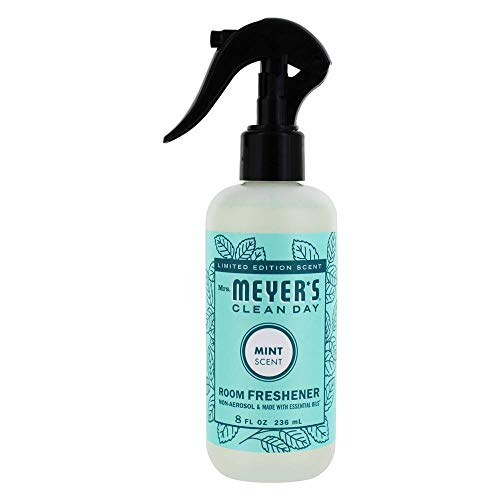 Mint Room Spray - Mrs. Meyer's Clean Day Room Freshener Non-Aerosol Spray Mint - 8 fl. oz. (Pack - 1)