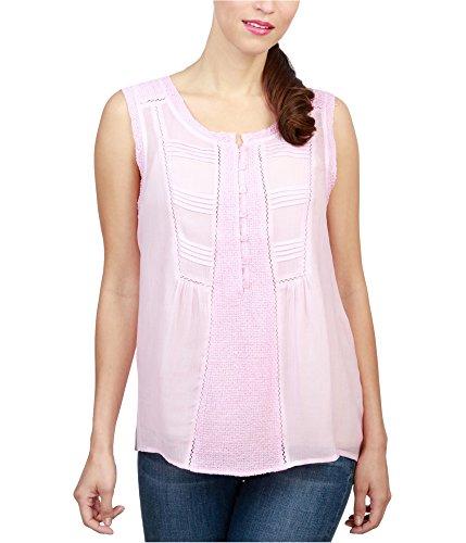 Audrey Tank - Lucky Brand Women's Audrey Tank, Pink, Medium