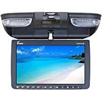 Tview T91DVFD-BK Car Flip Down DVD Monitor (Black)