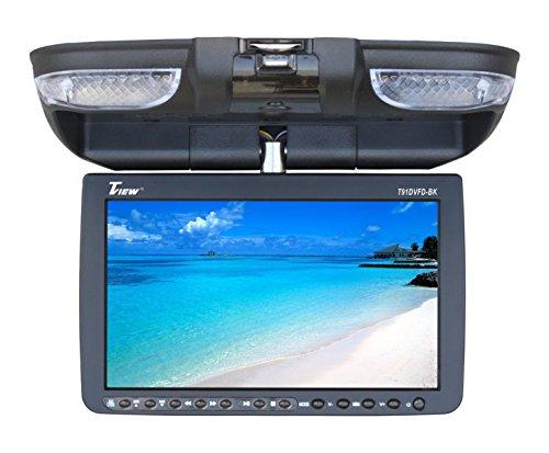 Tview T91DVFD-BK Car Flip Down DVD Monitor (Black)