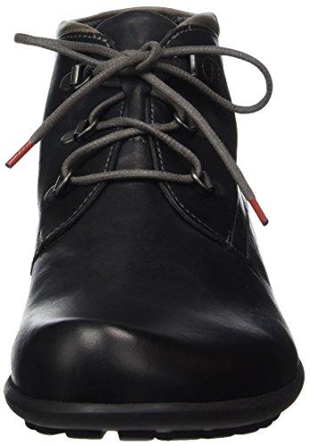 Think Kong, Stivali Desert Boots Uomo Nero (Sz/Kombi 09)
