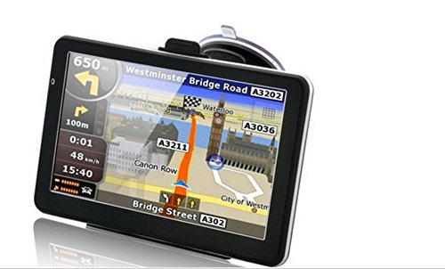 7'' Car Truck GPS Navigation Sat Nav 8GB UK EU AU USA Canada Maps MP4 Player FM