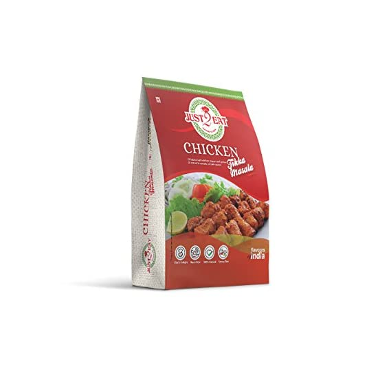 Just2Eat Chicken Tikka Masala Ready To Eat Pack (280 Gm)
