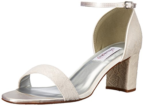 Heeled Women's Sandal White Dyeables Summer EfqwdY