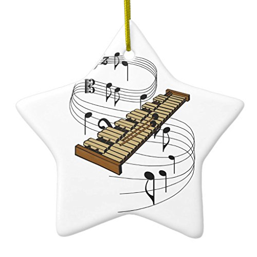 Zazzle Xylophone Ornament Star